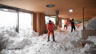 Retour à la normale à Schwägalp après l'avalanche de jeudi dernier