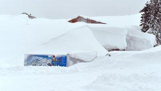 Autriche: les images des impressionnantes chutes de neige