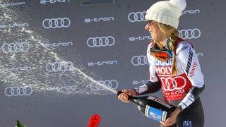 Mikaela Shiffrin émerge, les Suissesses s'enlisent