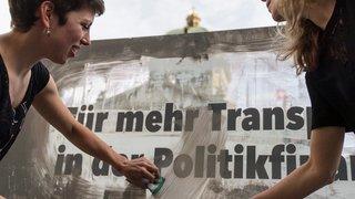 Transparence: petit pas