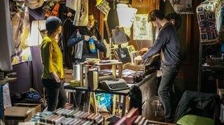 Les fans de disques vinyles à Neuchâtel
