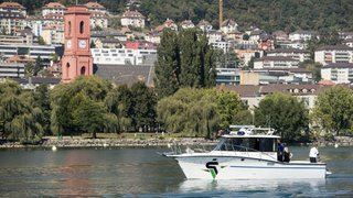 Lac de Neuchâtel: sécurité assurée malgré le zodiac inutilisable