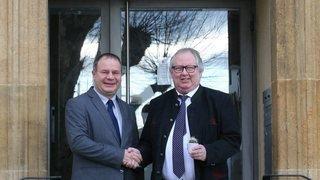 L'ambassadeur de Roumanie a rassuré le maire de La Neuveville