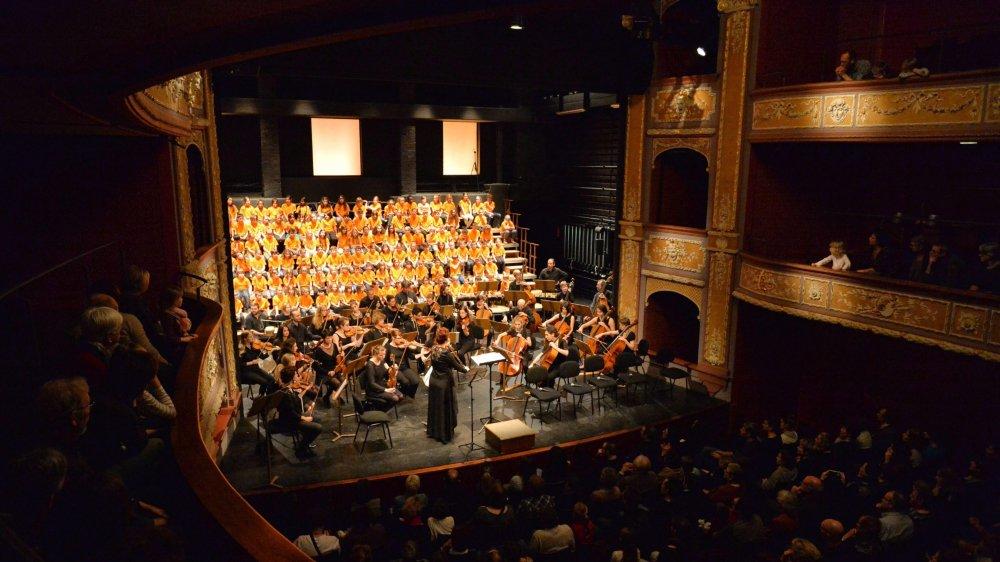 Le conte musical Hans le hérisson joué par le Collège musical pour son 90e anniversaire.
