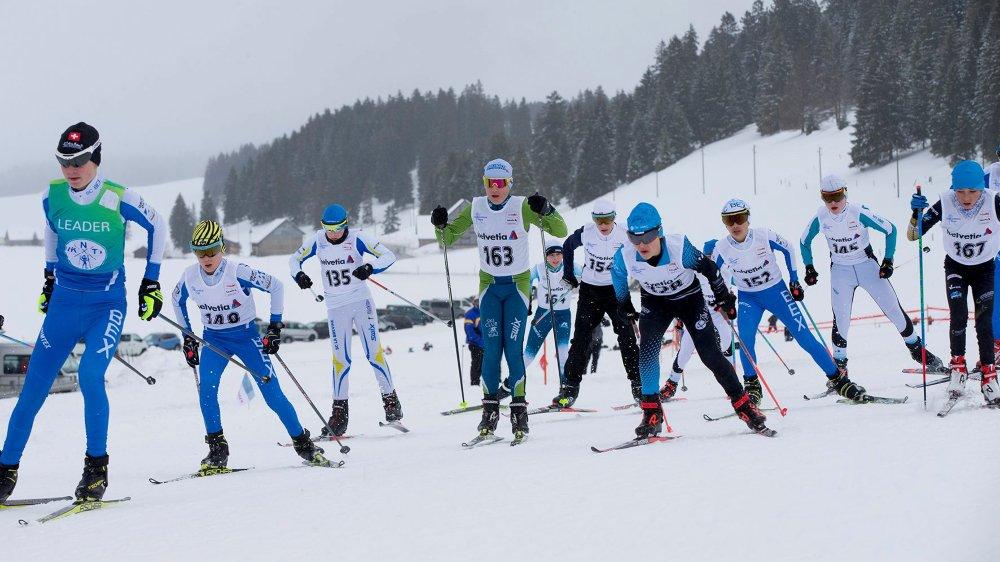 La Sibérienne s'est disputée sur une neige excellente à skier et par une température agréable.