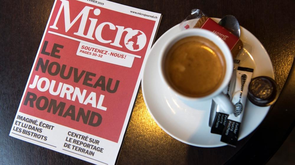 A contre-courant, «Micro» fait le pari du papier