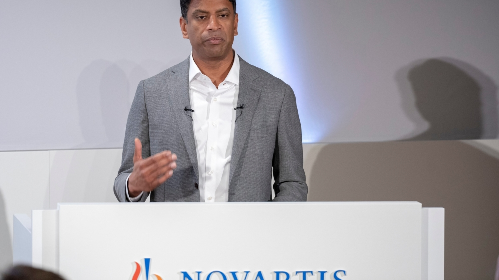 Hier, Vasant Narasimhan a souligné les changements que traverse Novartis, sous la pression des circonstances.