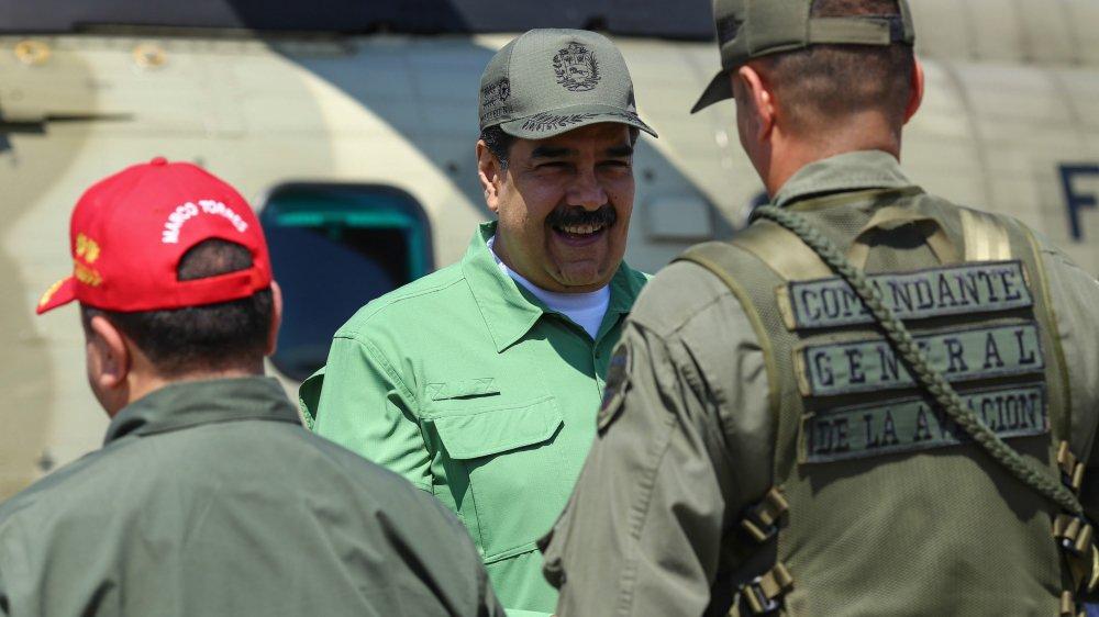 Nicolas Maduro tente de montrer qu'il reste en position de force.