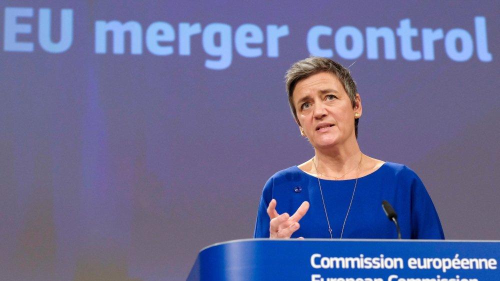 Margrethe Vestager a officialisé, hier, le veto au projet de fusion entre Alstom et Siemens soutenu tant par Paris que par Berlin.