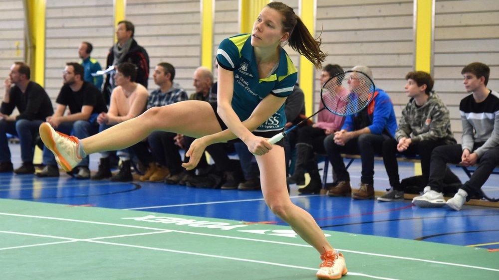 Sabrina Jaquet a décroché deux victoires.