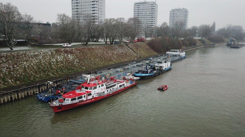 Le port spécialisé dans les produits pétroliers de Birsfelden a vu son volume de fret baisser de 24%.