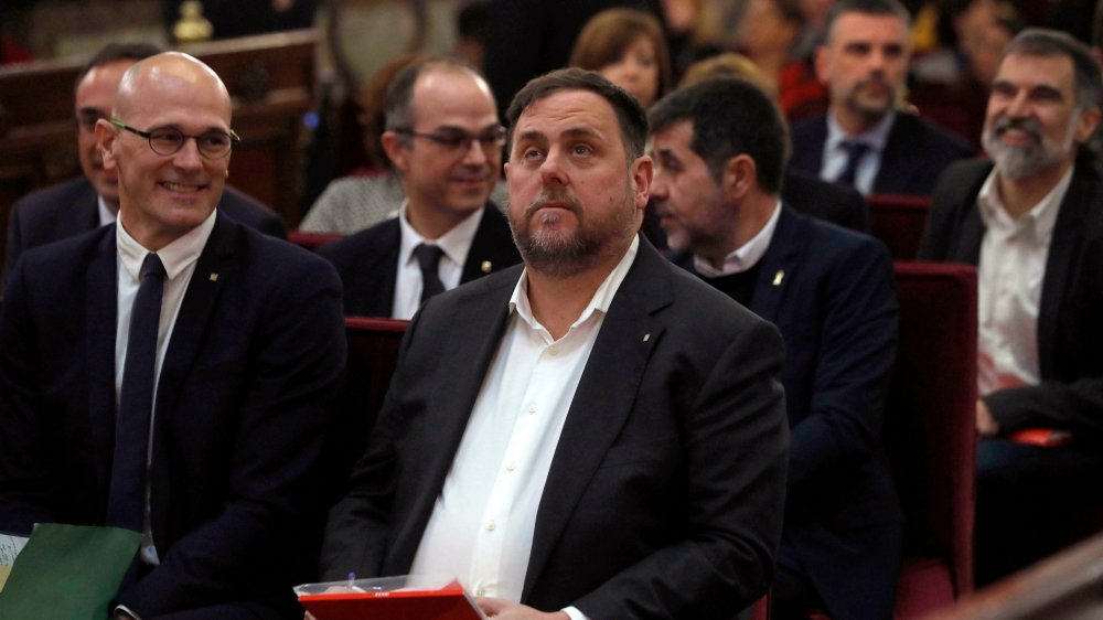 Le parquet a réclamé 25 ans de prison contre Oriol Junqueras,  ancien vice-président catalan.