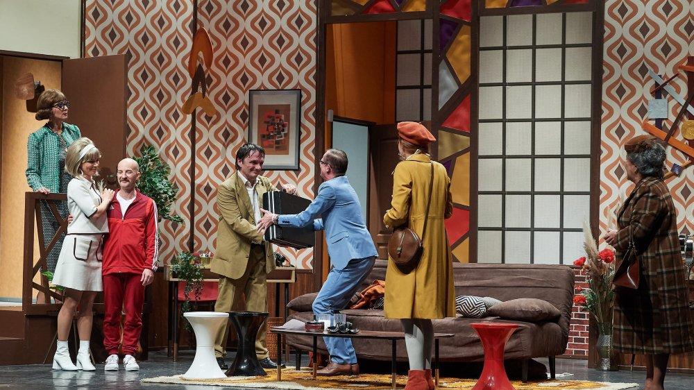 «Oscar» revisité par la troupe du Boulevard romand.