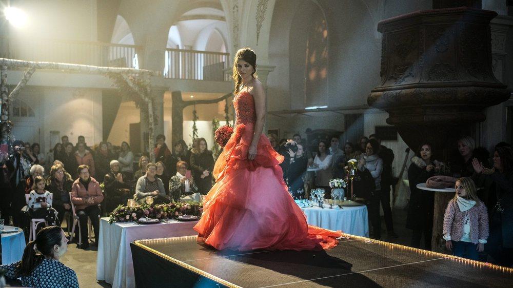 Les organisateurs ont souhaité relancer un salon du mariage dans la région, alors que le plus proche rendez-vous de ce type se trouve actuellement à Lausanne.