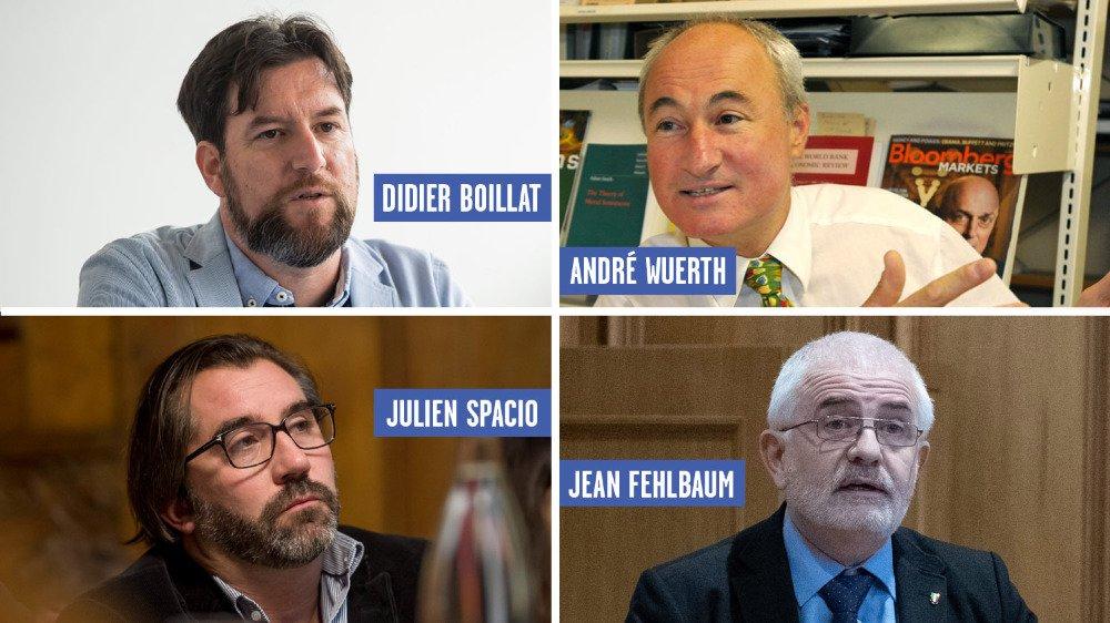 Les quatre nouveaux prétendants du PLR pour les fédérales d'octobre 2019