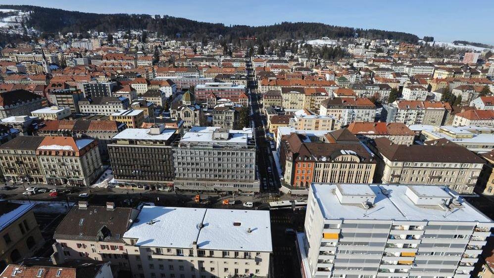 La Chaux-de-Fonds: c'est l'ensemble de la ville en damier qui fait la richesse du patrimoine.