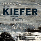 Visite expo Anselm Kiefer | Livres et xylographies