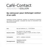 Café-Contact à Gollion