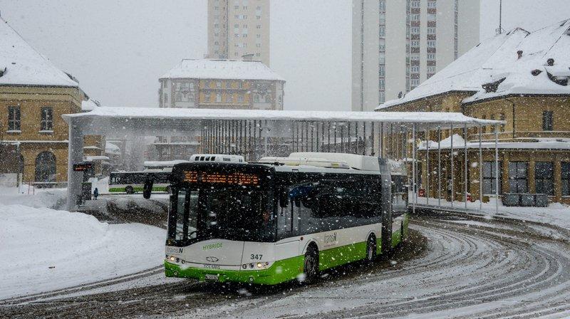 La circulation des bus était perturbée ce mercredi matin, au Locle et à La Chaux-de-Fonds.