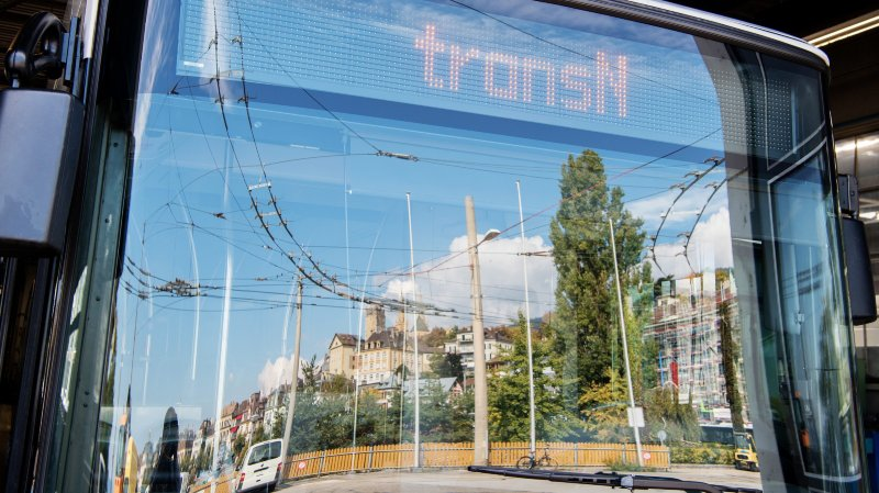 Saint-Blaise: collision entre deux trolleybus