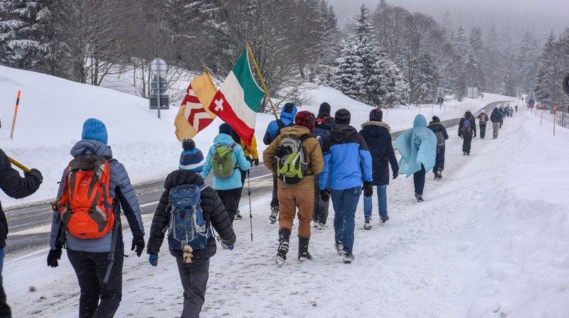 En 2018, la marche du 1er Mars avait vu danser... les flocons!