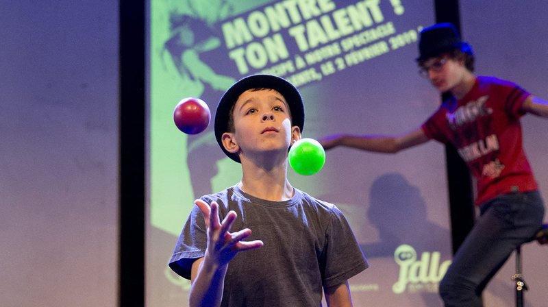 Répétition des jeunes talents de la Côte qui préparent leur show.
