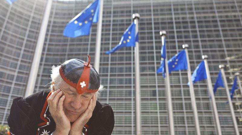 Les Etats membres de l'Union européenne maintiennent la pression sur la Suisse pour qu'elle signe l'accord-cadre négocié en décembre (illustration).