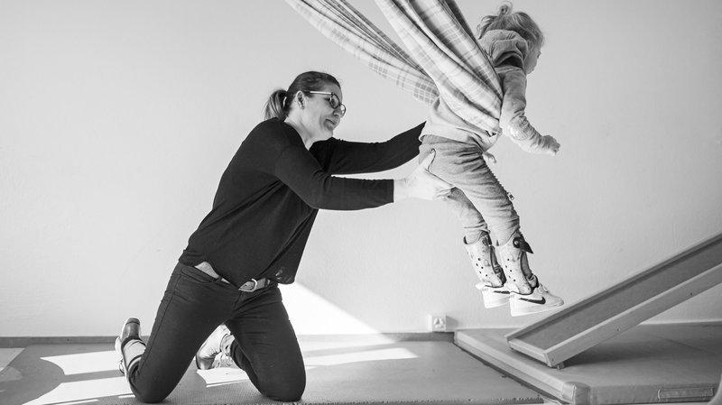 La Chaux-de-Fonds: le photographe David Marchon donne une voix à la petite Elsa