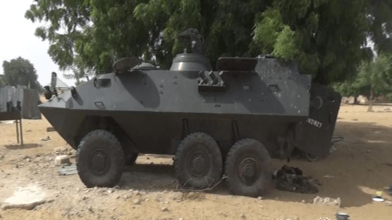Nigeria: un second blindé suisse retrouvé aux mains de terroristes