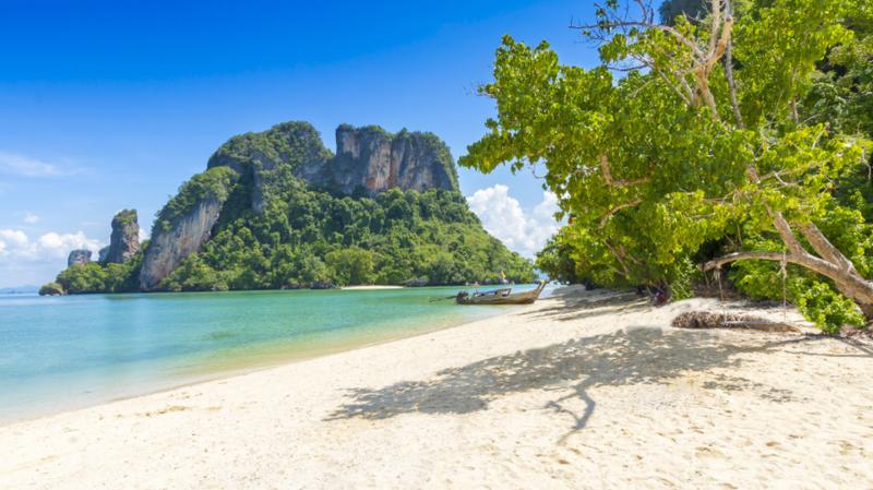 C'est sur une plage de l'île paradisiaque de Koh Pak Bia, en Thaïlande, que le drame s'est déroulé.