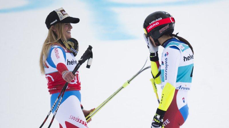Ski alpin: le quartette des Suissesses pour le Super-G dames des Mondiaux à Are a été défini