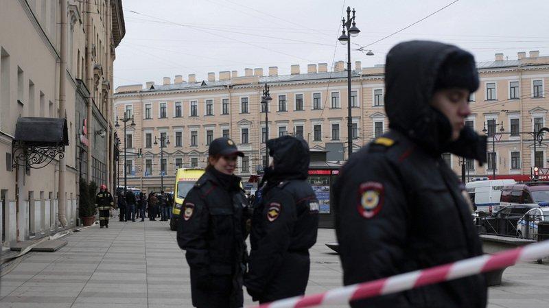 Plusieurs évacuations ont également eu lieu à Saint-Pétersbourg (photo).
