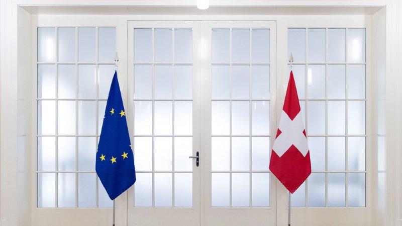 Accord avec l'UE: projet de conclusions sur la Suisse reporté