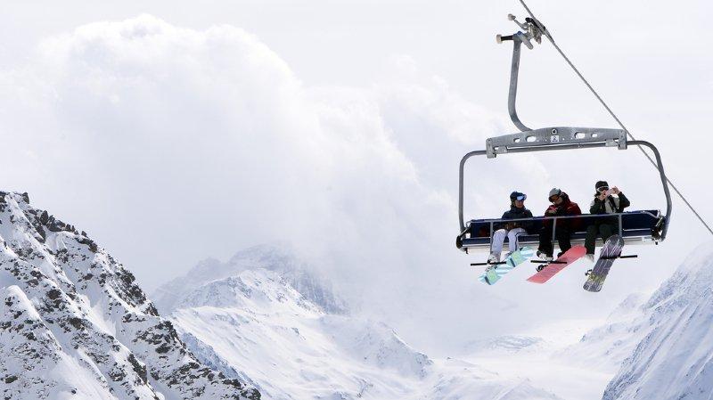 Les domaines skiables suisses ont le sourire malgré les caprices de la météo