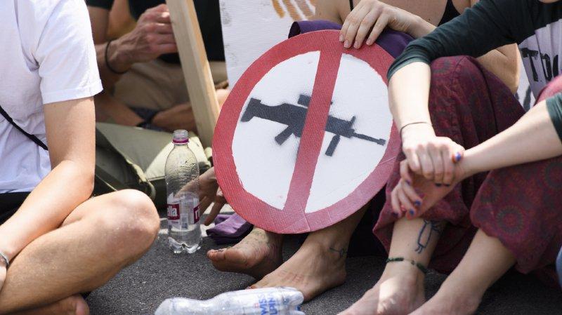 100'000 signatures récoltées en deux mois contre les exportations d'armes