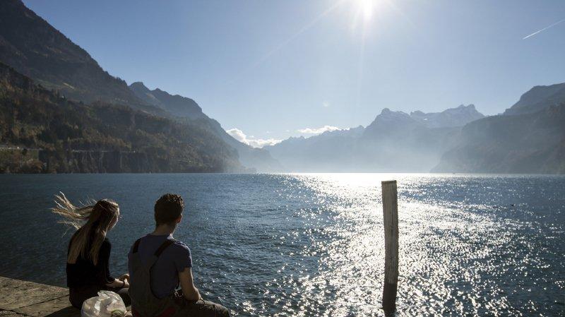 La barre des 10 degrés sera dépassée dans plusieurs régions en Suisse. (illustration)