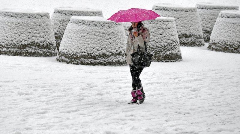 Météo: de la neige jusqu'en plaine lundi