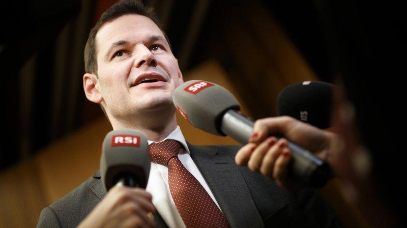 Genève: le conseiller d'Etat Pierre Maudet ne s'occupera plus que la promotion économique