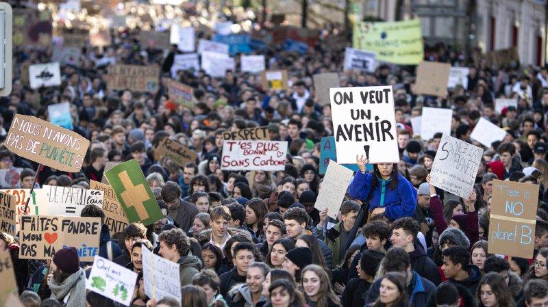 Gymnase de la Broye: les élèves grévistes en faveur du climat ne recevront pas la note-sanction 1
