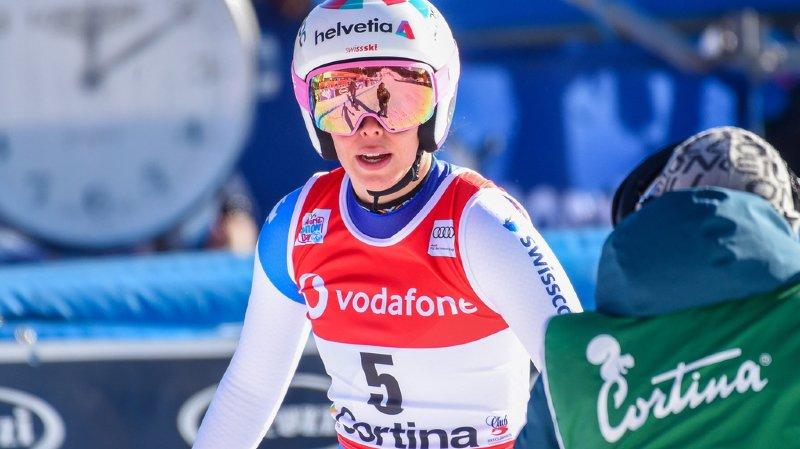 Ski alpin: saison terminée pour Michelle Gisin, blessée au genou