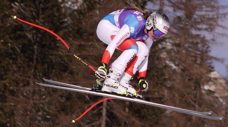 Ski alpin: Corinne Suter la plus rapide à l'entraînement de la descente de Garmisch