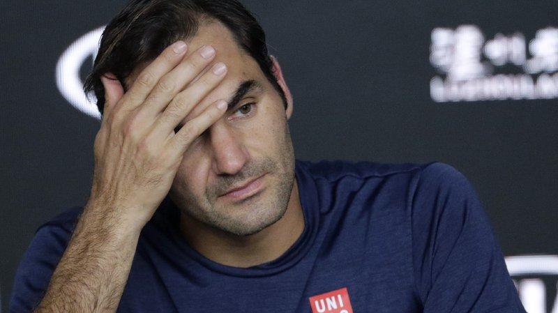Roger Federer a perdu 3 places pour figurer au 6e rang du classement ATP.