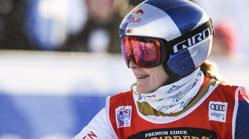 Fanny Smith est pour la deuxième fois de sa carrière vice-championne du monde de skicross.