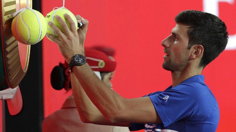 Tennis - Open d'Australie: Novak Djokovic se qualifie pour les demi-finales en 51 minutes