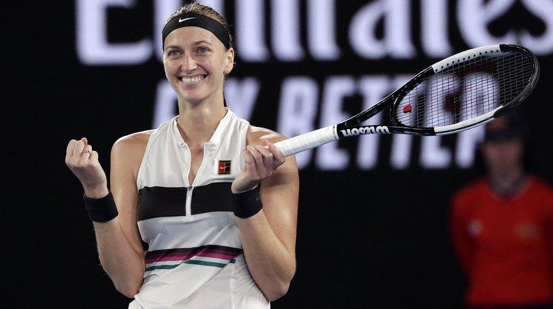 Tennis – Open d'Australie: une finale Kvitova – Osaka qui promet
