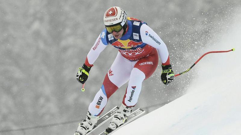 Ski alpin: Beat Feuz décroche une belle deuxième place lors de la descente de Kitzbühel, remportée par Dominik Paris