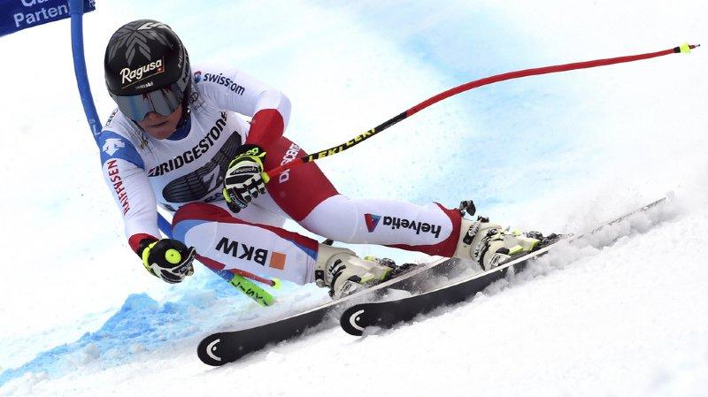 Ski alpin: Lara Gut-Behrami 3e du super-G de Garmisch-Partenkirchen