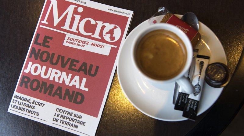 Média: le nouveau trihebdomadaire romand «Micro» vise les cafés-restaurants