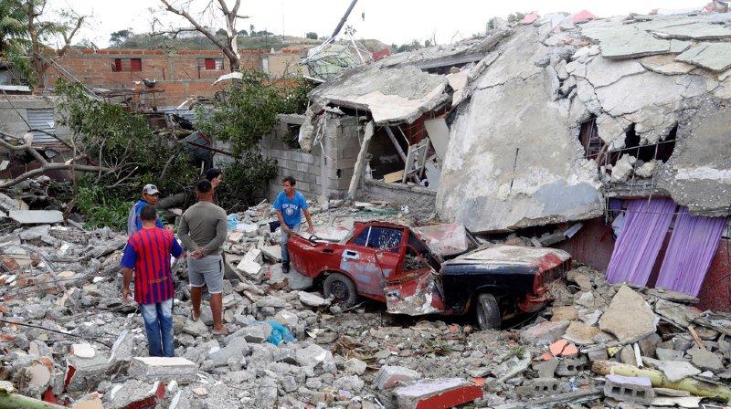 La Havane ravagée par une tornade: le bilan s'alourdit à au moins 4 morts et 195 blessés