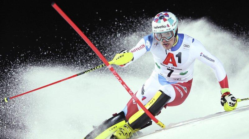 Le Valaisan Daniel Yule est à nouveau en course pour un podium à Schladming.